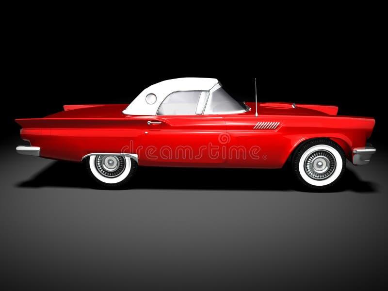 Carro clássico americano 3 ilustração do vetor