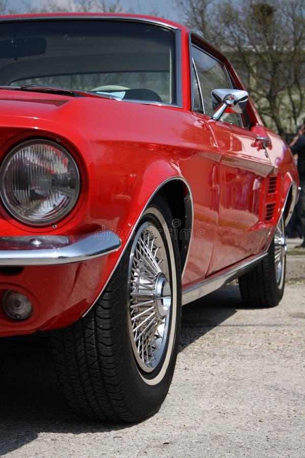 Carro clássico americano velho foto de stock