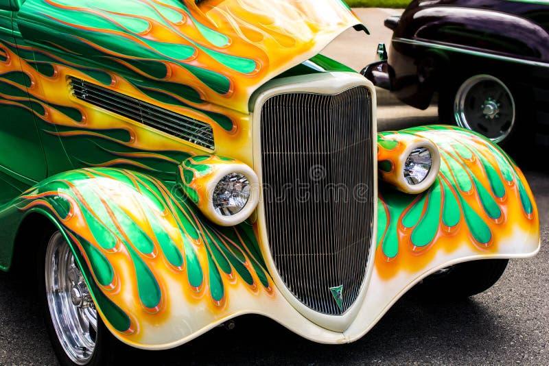 Carro clássico do hotrod fotos de stock royalty free