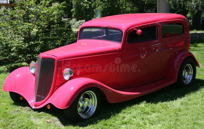 Carro clássico - sedan fotografia de stock