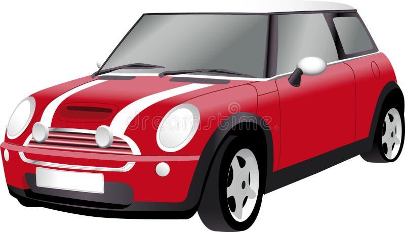 Carro compacto ilustração stock