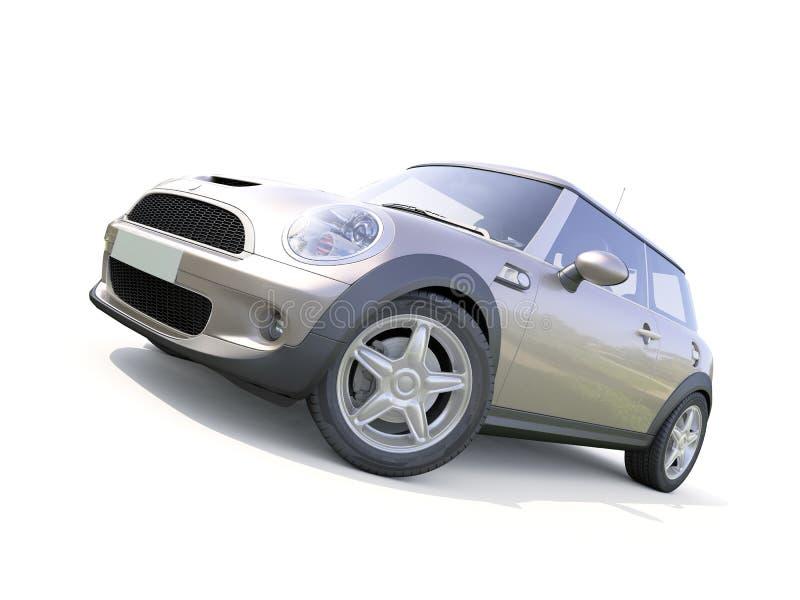 Carro compacto moderno fotografia de stock royalty free