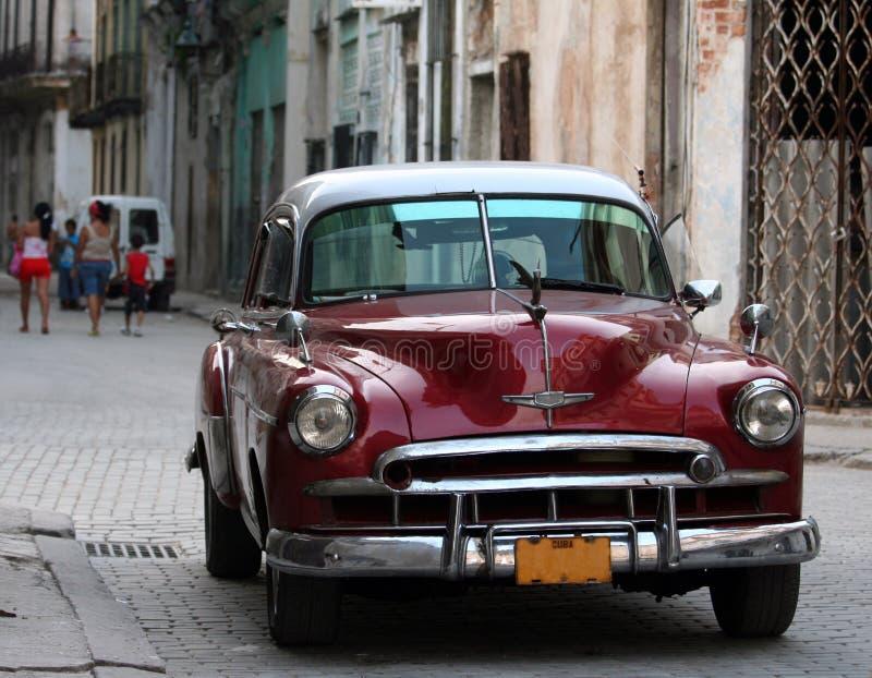 Carro cubano foto de stock royalty free