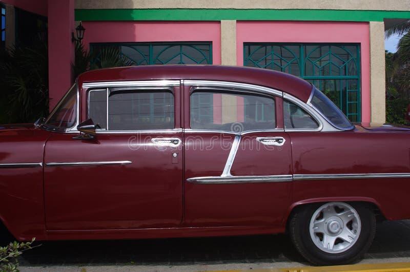 Carro cubano fotografia de stock royalty free