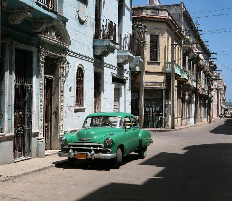 Carro cubano do vintage fotos de stock royalty free