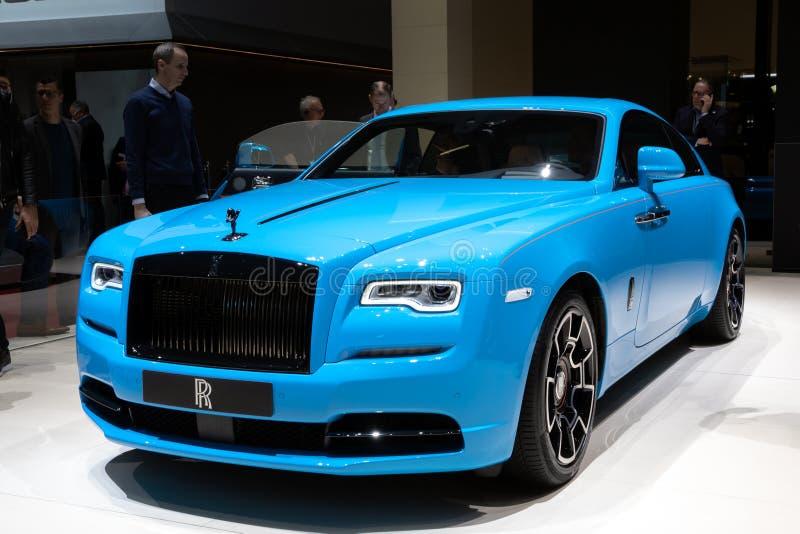 Carro da aparição de Rolls royce fotos de stock