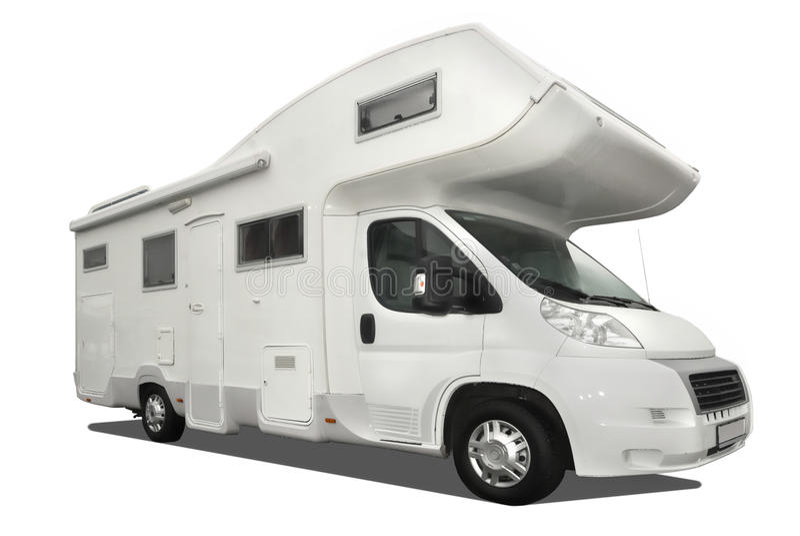 Carro da caravana imagem de stock royalty free