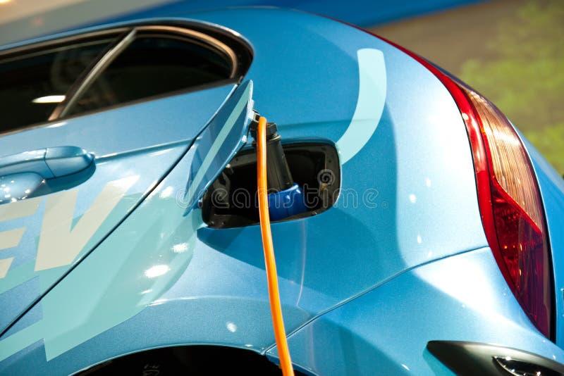 Carro da eletricidade imagem de stock