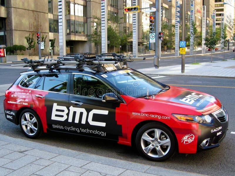 Carro da equipe de BMC foto de stock