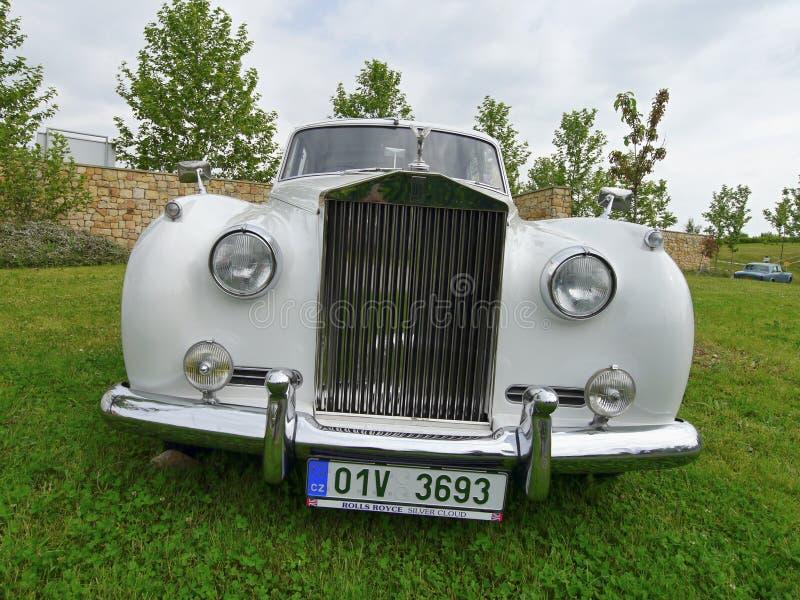 Carro da limusina de Rolls Royce foto de stock