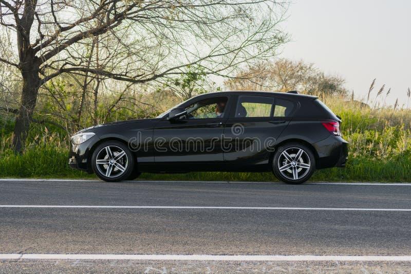 Carro da série 3 de BMW imagens de stock royalty free