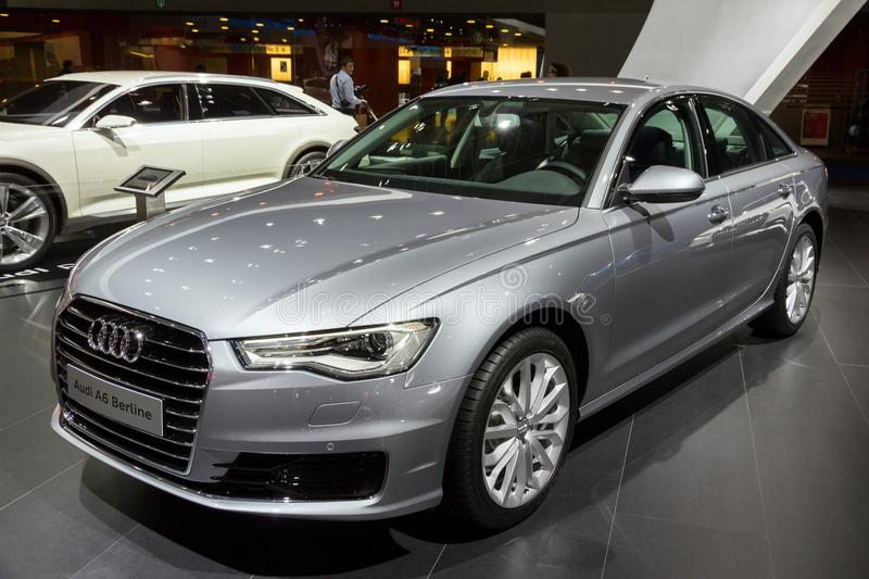 Carro de Audi A6 Berline foto de stock