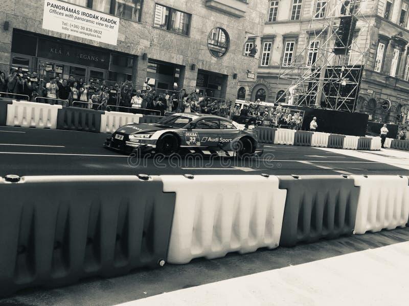 Carro de Audi DTM foto de stock