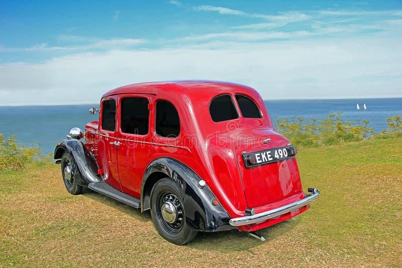 Carro de austin do vintage foto de stock