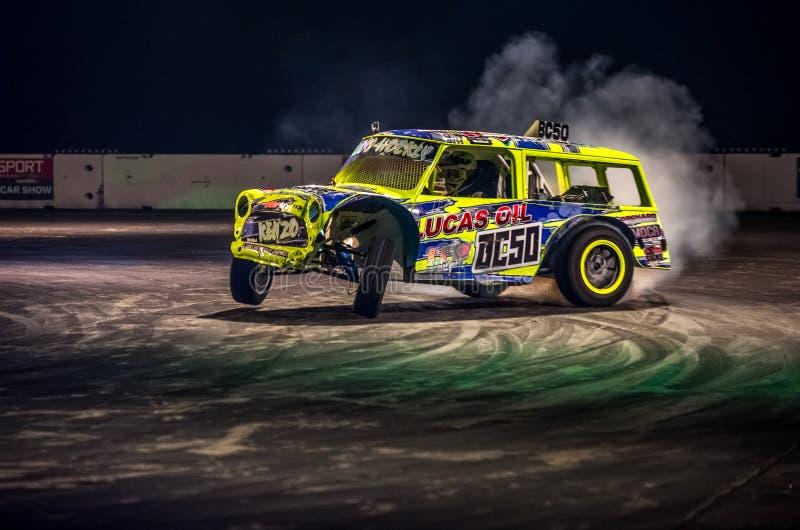 Carro de Autograss, International 2016 de Autosport fotos de stock royalty free
