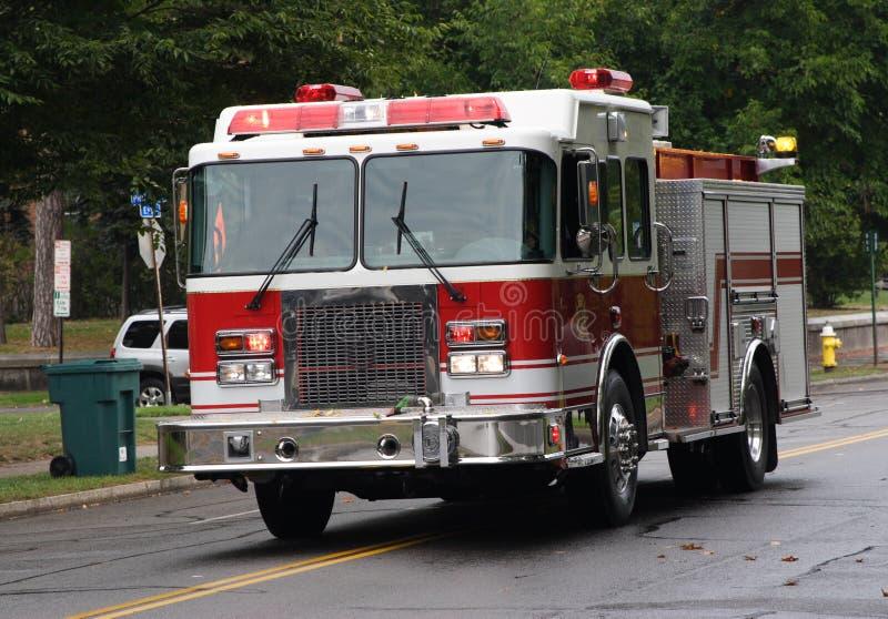 Carro de bombeiros foto de stock royalty free