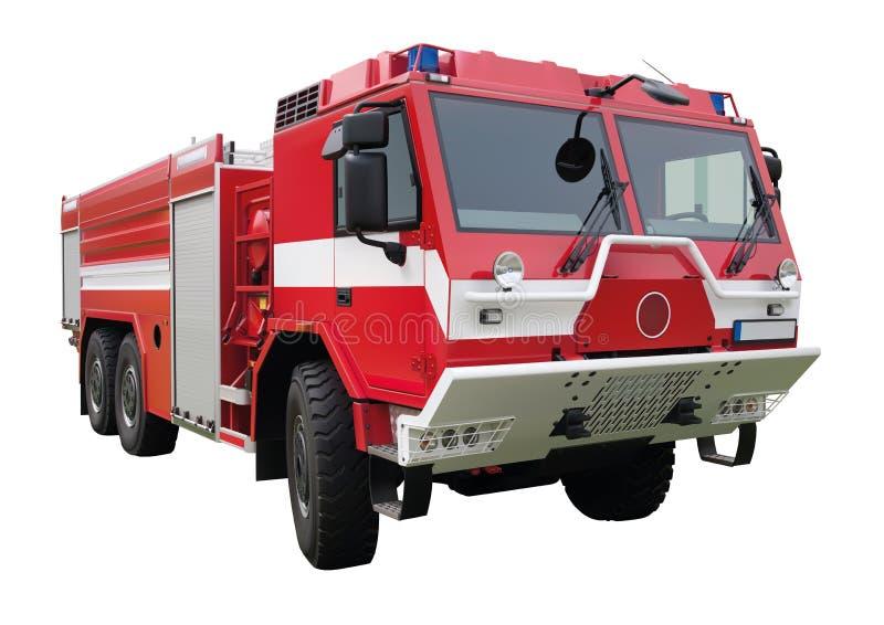 Carro de bombeiros vermelho ilustração royalty free