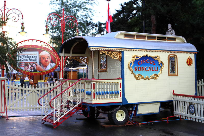 Carro de circo imagen de archivo libre de regalías