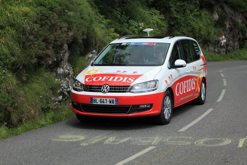 Carro de Cofidis