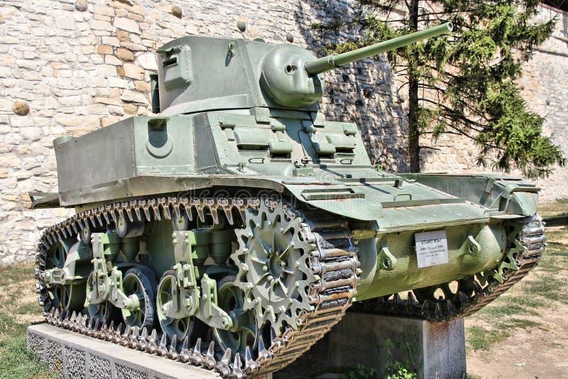 Carro de combate leve do M3 Stuart imagens de stock