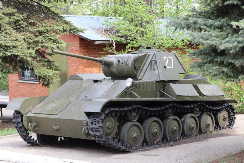Carro de combate leve soviético T-70 da segunda guerra mundial foto de stock royalty free