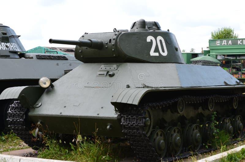 Carro de combate leve soviético T-50 fotografia de stock