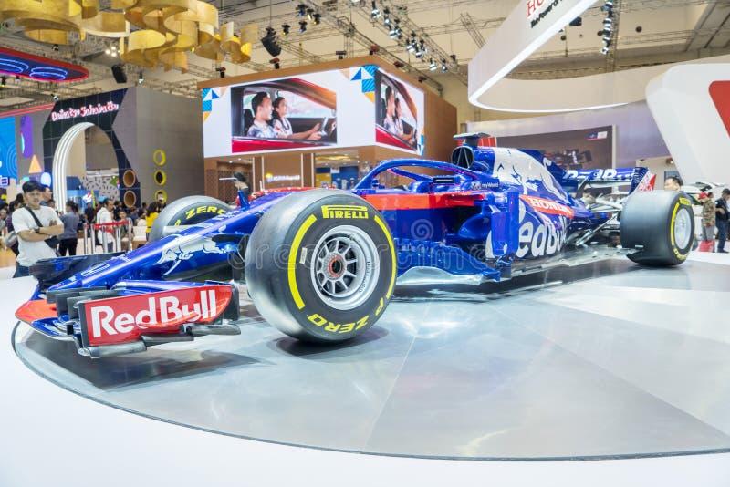 Carro de competência da réplica F1 em GIIAS 2019 imagem de stock