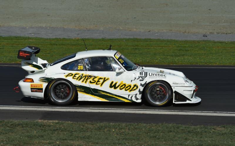 Carro de competência de Porsche GT3 fotos de stock royalty free