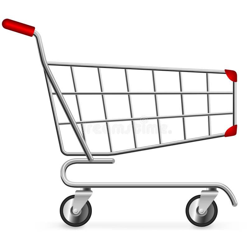 Carro de compra ilustração stock