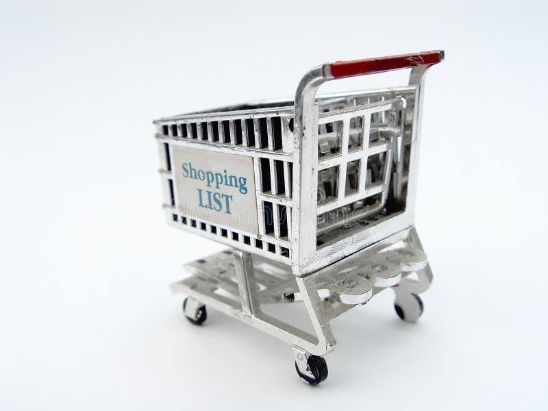 Carro de compra foto de stock royalty free