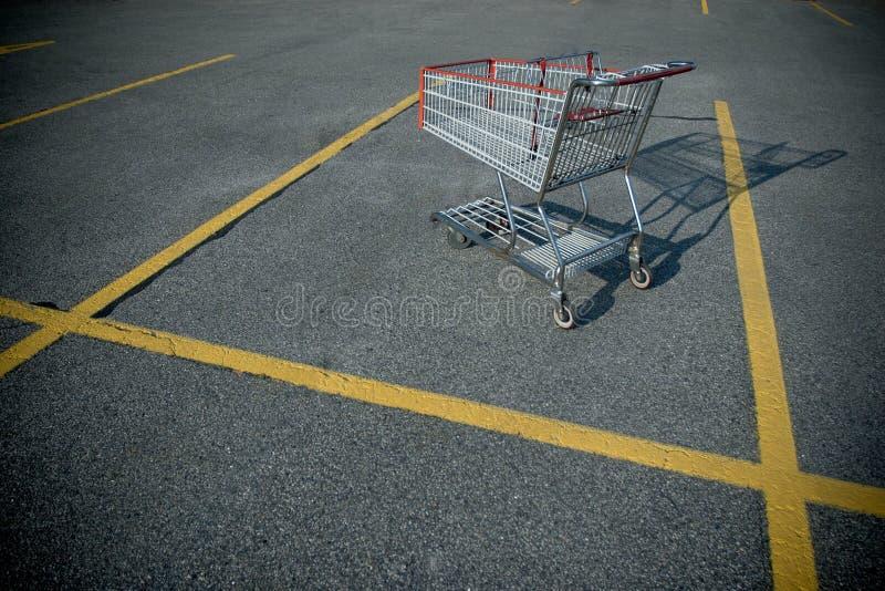 Carro de compras fotografía de archivo