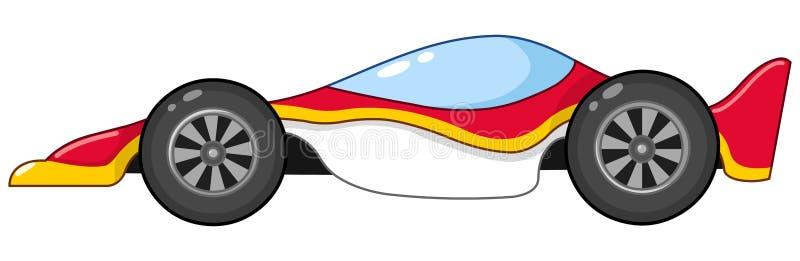 Carro de corridas ilustração do vetor
