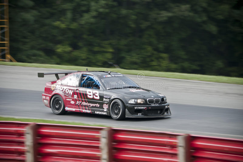 Carro de corridas de BMW M3 fotos de stock royalty free