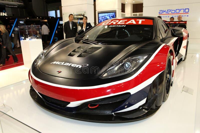 Carro de corridas de McLaren fotos de stock royalty free