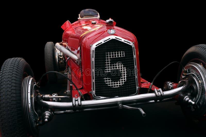 Carro de corridas de Romeo Tipo B P3 do alfa de Ferrari foto de stock royalty free