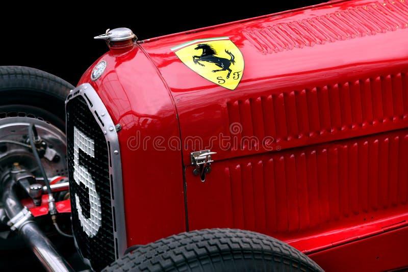 Carro de corridas de Romeo Tipo B P3 do alfa de Ferrari imagem de stock royalty free