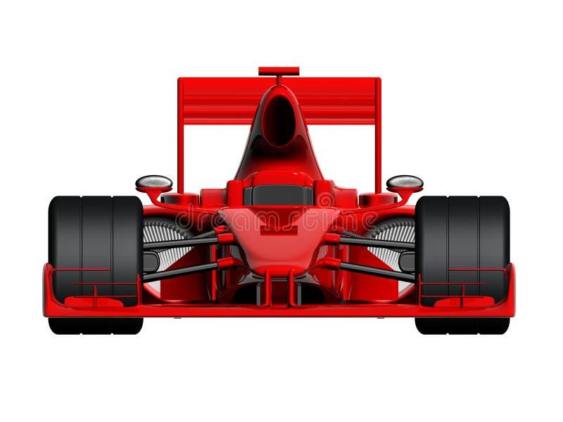 Carro de corridas F1 ilustração stock