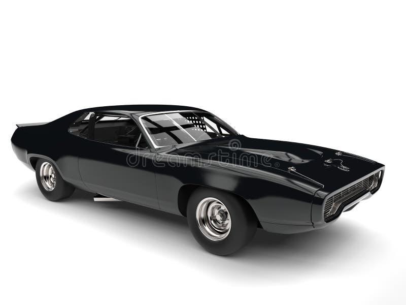 Carro de corridas resistente do vintage - restaurado imagens de stock royalty free