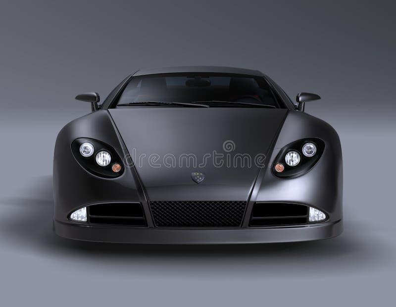 Carro de esportes 1 do coupé da GT ilustração do vetor