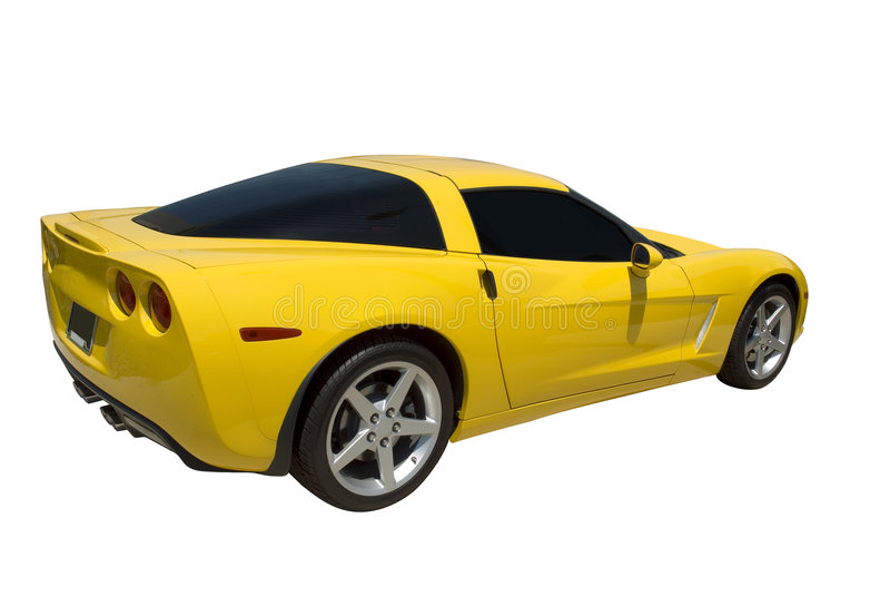 Carro de esportes fotos de stock royalty free