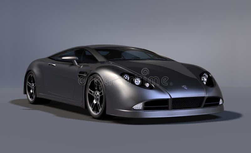 Carro de esportes 4 do coupé da GT ilustração do vetor