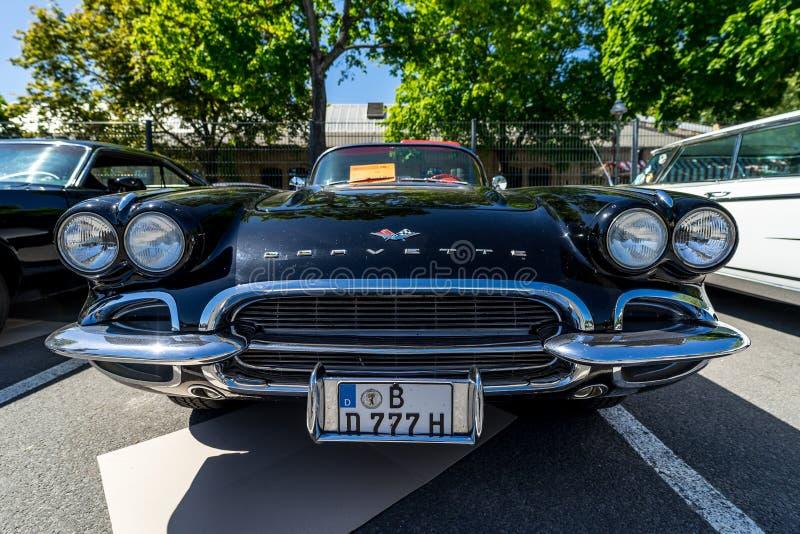 Carro de esportes Chevrolet Corvette C1 imagem de stock