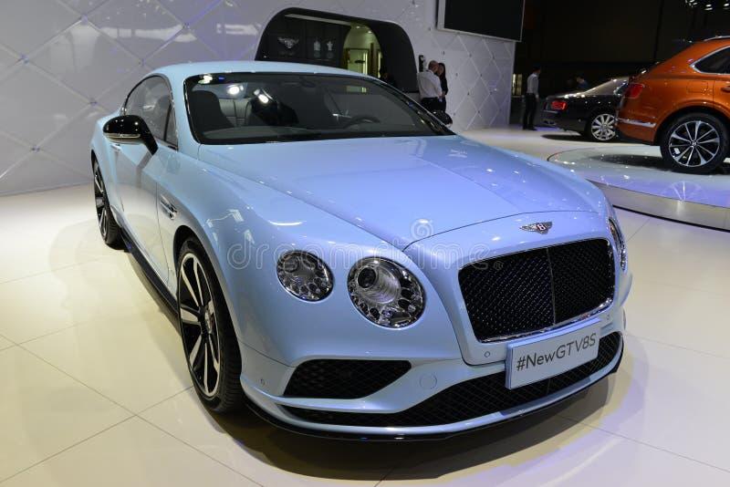 Carro de esportes de Bentley Continental New GTV8S imagem de stock royalty free