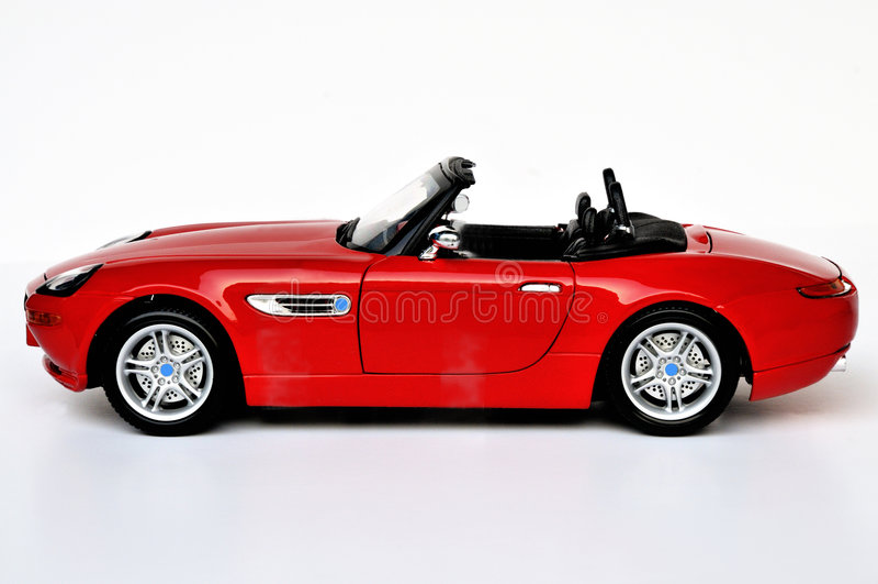 Carro de esportes de BMW fotografia de stock
