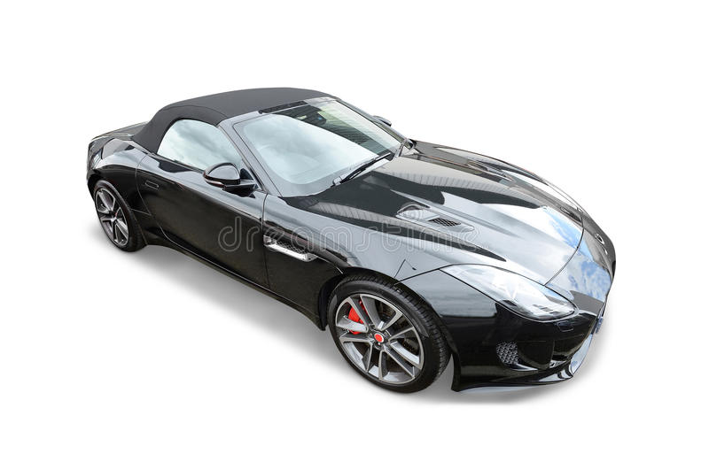 Carro de esportes de Jaguar fotos de stock
