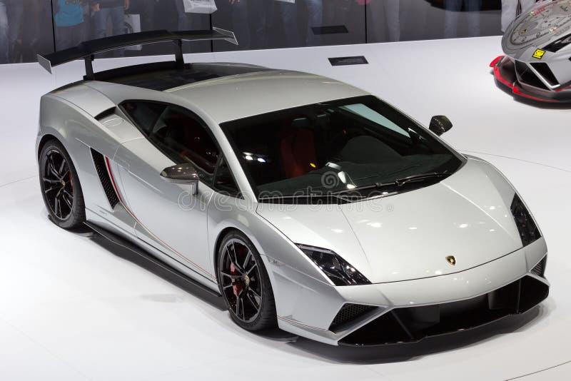 Carro de esportes de Lamborghini Gallardo foto de stock royalty free