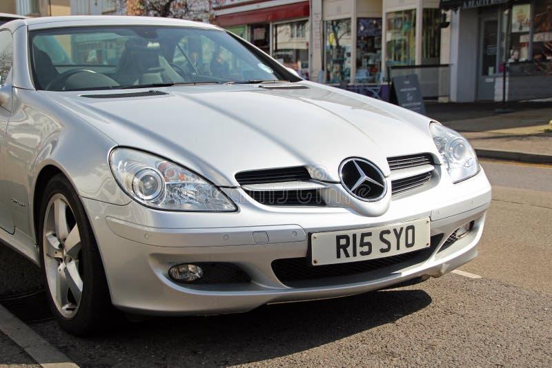 Carro de esportes de Mercedes foto de stock
