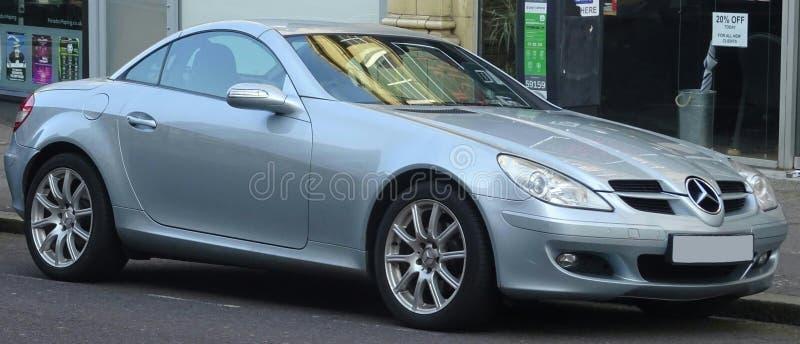 Carro de esportes de Mercedes imagem de stock