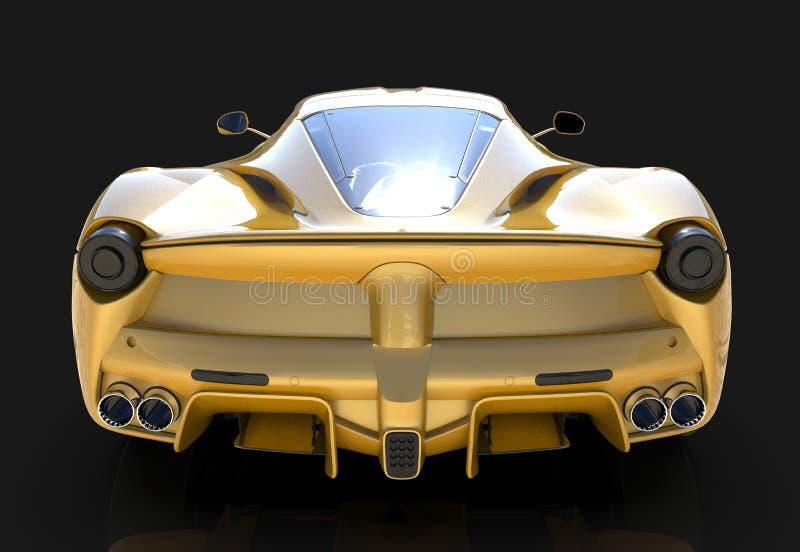 Carro de esportes E ilustração 3D ilustração royalty free