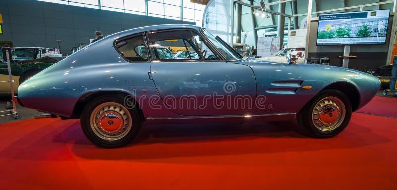 Carro de esportes Fiat GT 1500 Ghia, 1964 fotografia de stock royalty free